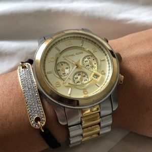 Oversized MK Boyfriend Watch